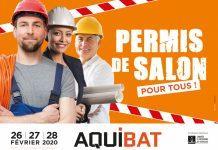 Affiche 2020 du salon Aquibat