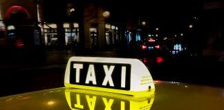 Symbole lumineux taxi